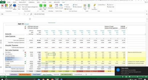 2016-11-02 14.01 Better Enterprise Budgeting with Microsoft Excel®