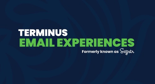 Terminus Feature Overview: Email Experiences