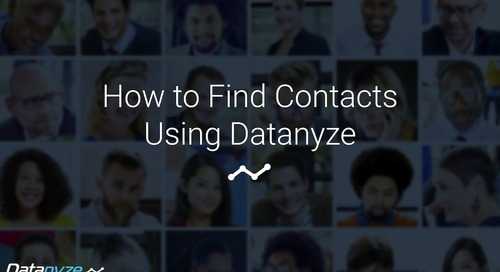 How to Find Contacts Using Datanyze
