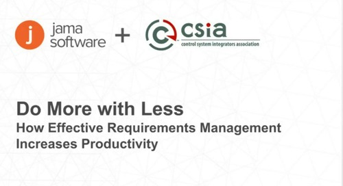 Do More with Less: How Effective Requirements Management Increases Productivity