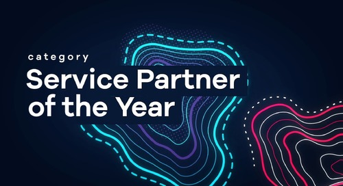 Service Partner of the Year and Tech Partner of the Year