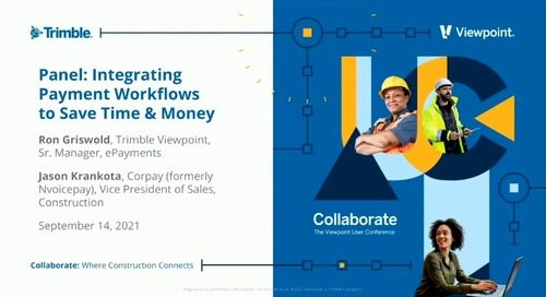 Industry Pro - Panel: Integrating Payment Workflows to Save Time & Money