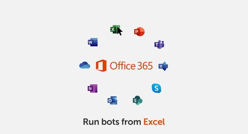 Enterprise A2019 Plugin Lets You Run Bots in Excel