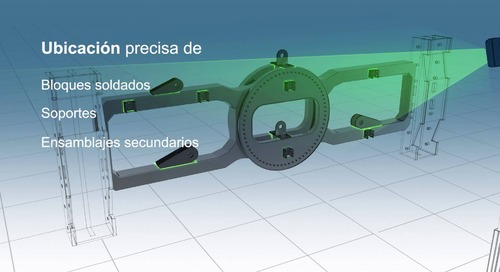 Posicionamiento y ensamblado de piezas con tecnología de proyección láser