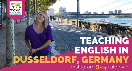 Day in the Life Teaching English in Dusseldorf, Germany With Lynsey MacLaren