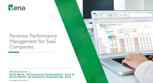 Revenue Performance Management for SaaS Companies