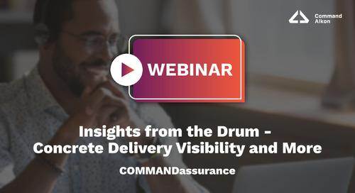 Insights from the Drum | COMMANDassurance Webinar