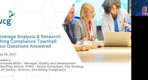 Coverage Analysis and Research Billing Compliance Q and A