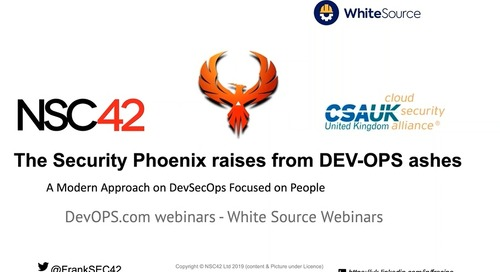 The Security Phoenix A Modern Approach to DevSecOps Focus on People