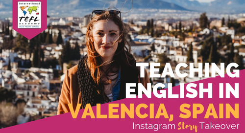 Day in the Life Teaching English in Valencia, Spain with Molly Ryan