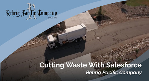 Rehrig Pacific: Cutting Waste with Salesforce