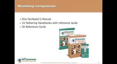 [Webinar On-Demand] All About the New 24:7 Dad® Key Behaviors Workshop