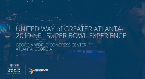 United Way of Greater Atlanta at Super Bowl LIII