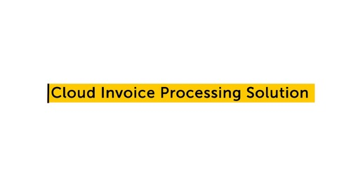 IQ Bot Use case - Cloud Invoice Processing Solution