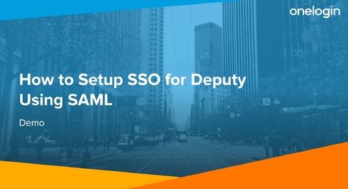 Setup Deputy SSO using SAML