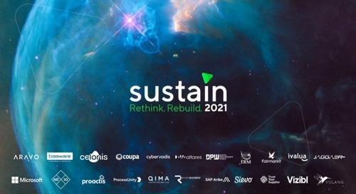 Sustain 2021 Closing Speech