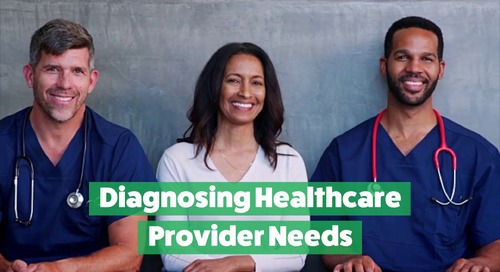 Diagnosing Healthcare Provider Needs