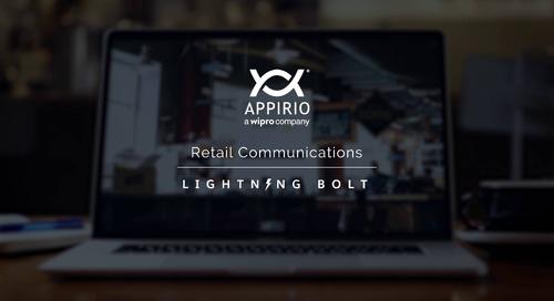 Appirio's Retail Communication Lightning Bolt