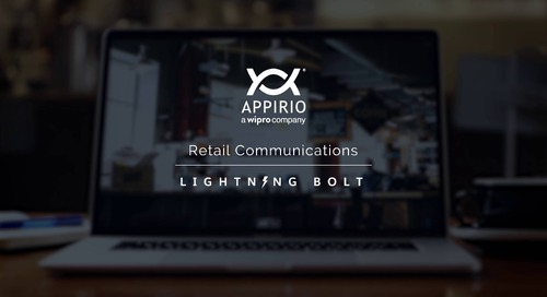 Appirio's Retail Communication Lightning Bolt