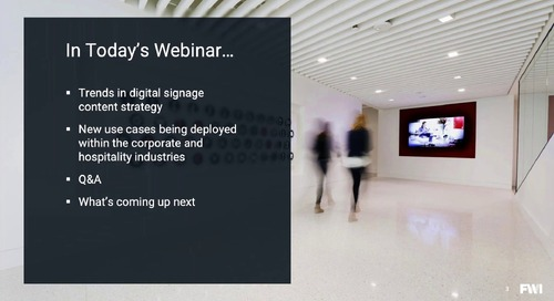 Webinar - Trends in Corporate and Guest Communications