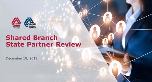 CO-OP Shared Branch State Network Partner Meeting - December 2019