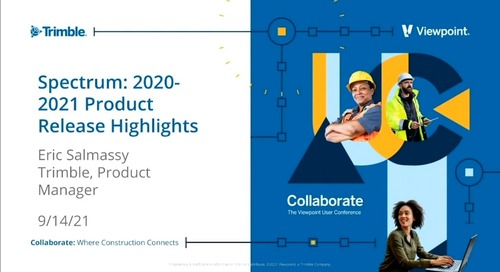 Spectrum - 2020-2021 Product Release Highlights