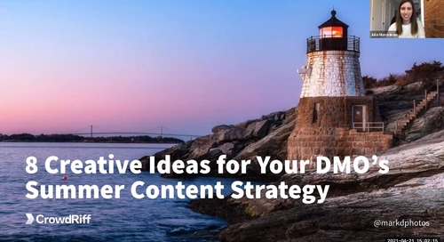 DMO Summer Content Strategies