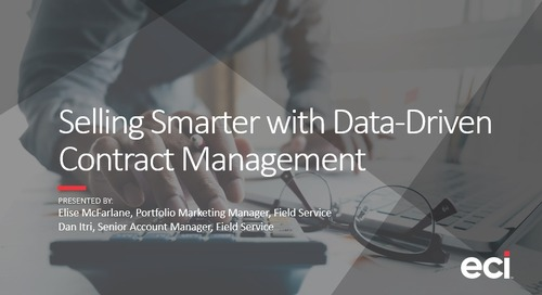 Selling Smarter with Data-Driven Contract Management