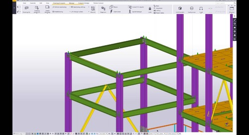 Webinar on Tekla Structures for Steel – Explore a wide range of application areas