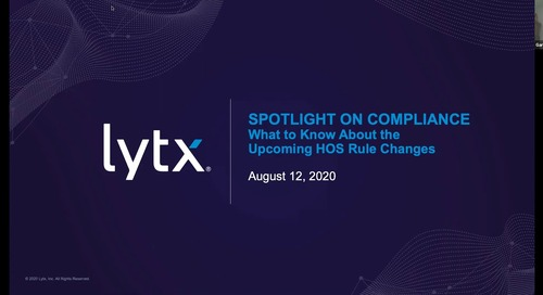 Spotlight on Compliance