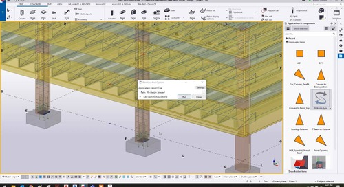 Integrating Precast/Prestressed Concrete Design with Tekla Structures