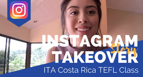 Day in the Life of Our Costa Rica TEFL Class with Maya Morales
