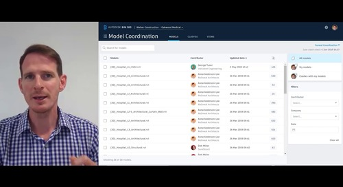 Welcome to BIM 360 Model Coordination!