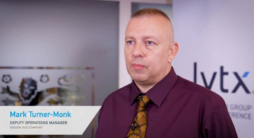 Mark Turner-Monk, Ensign Bus Company - Testimonial