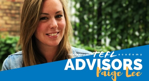International TEFL Academy Advisor - Paige Lee