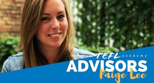 International TEFL Academy Advisor - Paige Lee