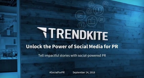 Unlock the Power of  Social Media for PR