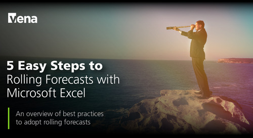 5 Easy Steps to Rolling Forecasts with Microsoft Excel