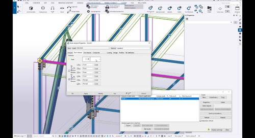Integrating BIM Models with Analysis and Design Programs