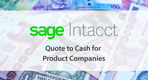 Sage Intacct Quote to Cash for Product Companies