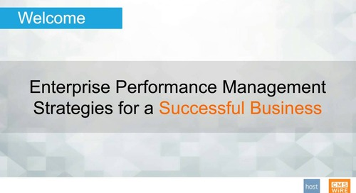 Make Enterprise Budgeting Easier: EPM Strategies for a Successful Business