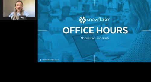Snowflake Office Hours - HousingAnywhere