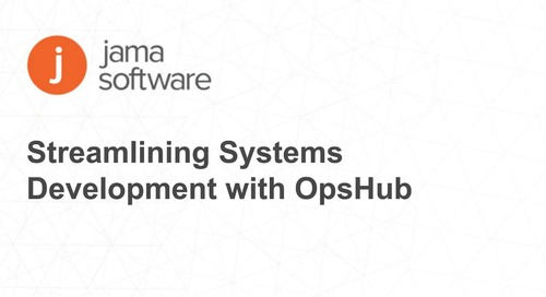Streamlining Systems Development with OpsHub