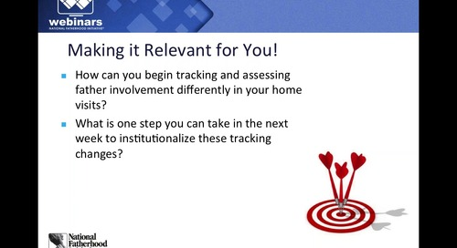[Webinar On-Demand] Practical Tips to Engage Fathers in Home Visiting Programs
