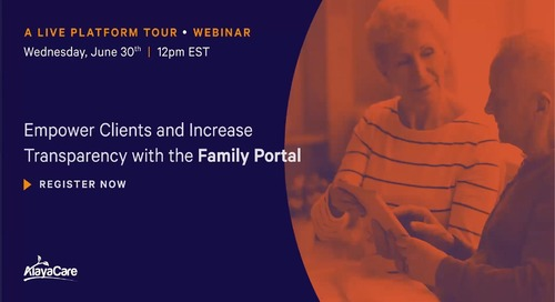 Family Portal - Live Platform Tour Webinar