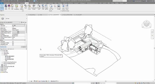Setting up views in cloud saved model for BIM 360 Model Coordination