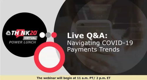 Webinar Replay: Navigating COVID-19 Payments Trends