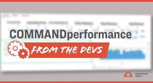 Introducing COMMANDperformance   Version 2020.4