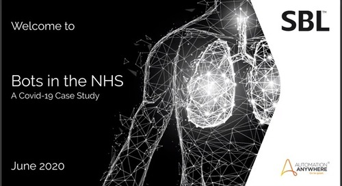 Bots in the NHS – A COVID-19 Case Study