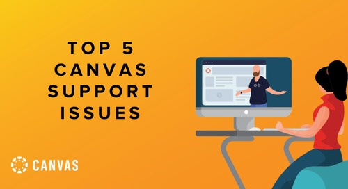 Top 5 Canvas Support Issues